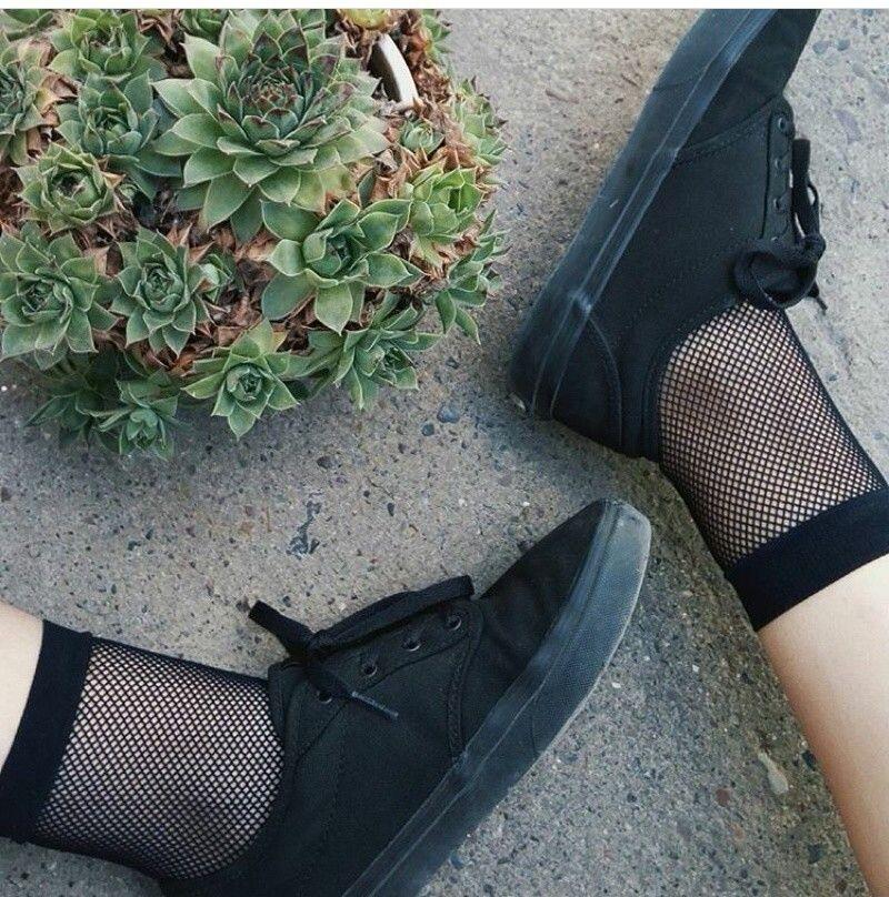 full black vans tumblr