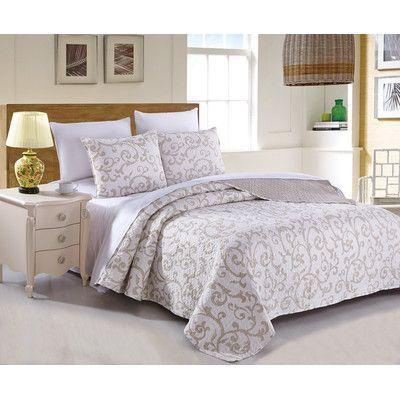 DaDa Bedding Quilt Set Size: California King