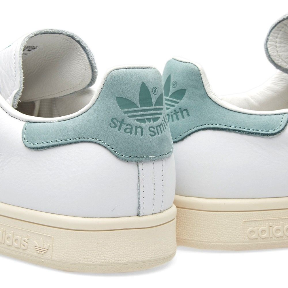 Afbeeldingsresultaat voor adidas originals stan smith Color White/ White/Vapour  Steel (S80025)