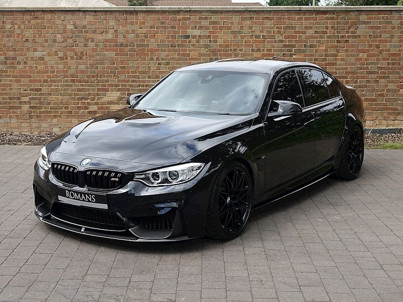 2017 Used Bmw M3 Competition Pack Bmw M3 Black Bmw Bmw M3