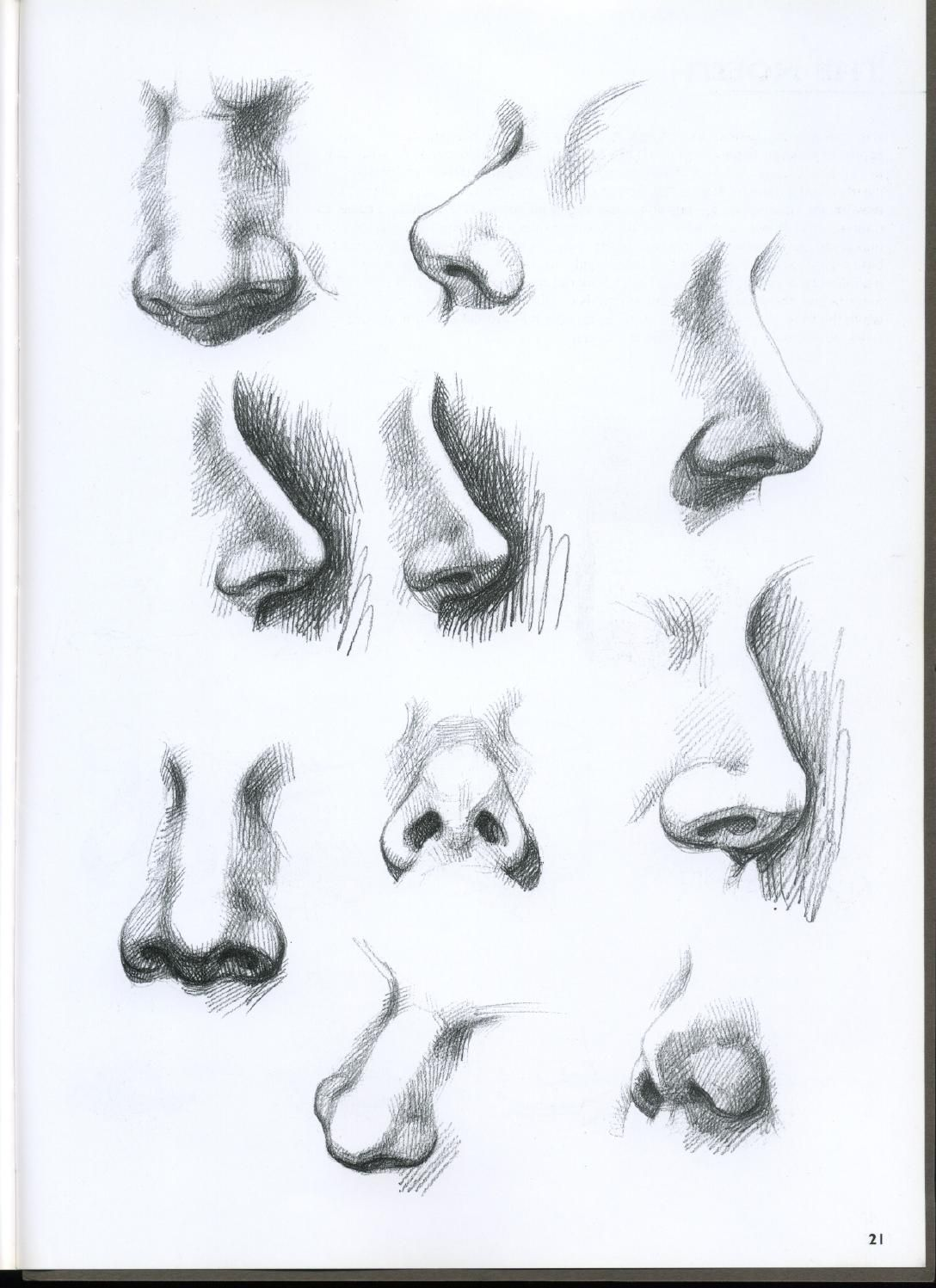 Giovanni Civardi Drawing Portraits Faces And Figures In