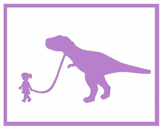 Dinosaur Artwork Nursery Decor Baby Kids Girl Colorful 8x10 Dino Print T Rex Dinosaur Room Dinosaur Theme Bedroom Dinosaur Nursery