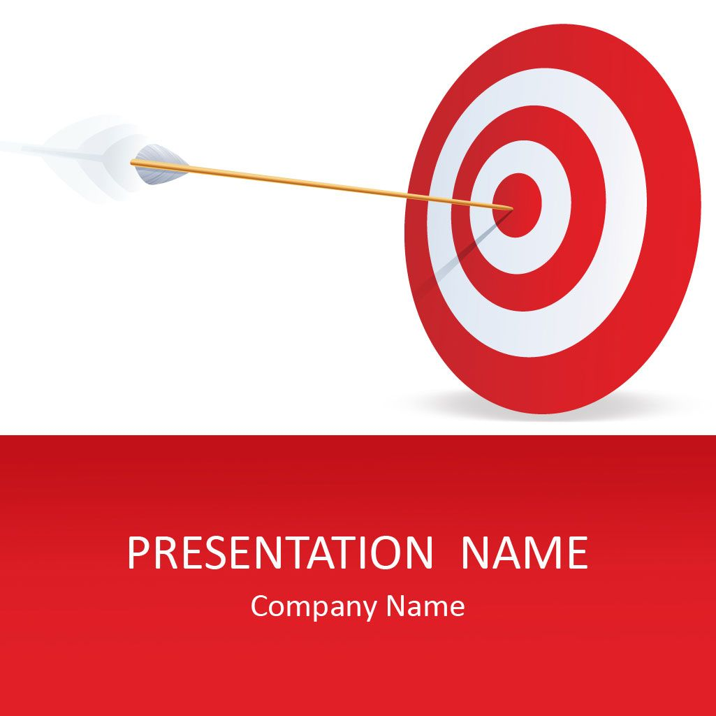 target powerpoint template templates pinterest template and target