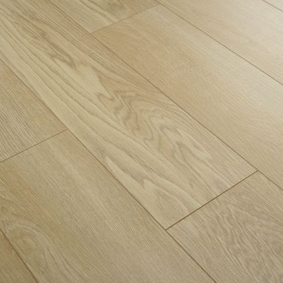 Series 12mm Milano Oak V Groove Laminate Flooring Series Laminate