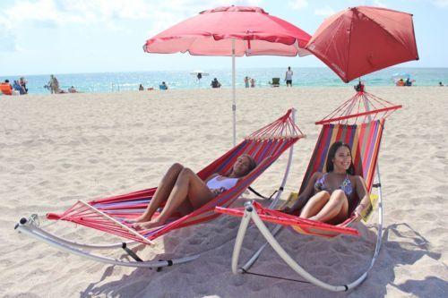 Folding Beach Hammock Travel Foldable Portable