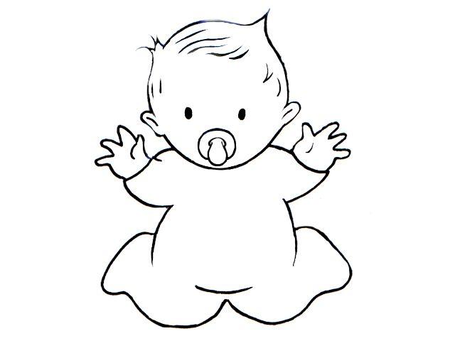 Pin Von Patricia Silva Cunha Auf Digital Stamps Clipart Baby Ausmalbilder Baby Drucke