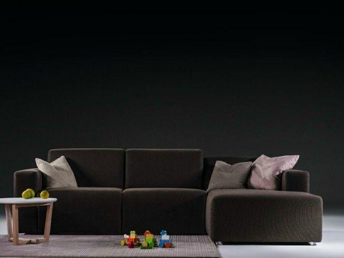 Le Canape Design Italien En 80 Photos Pour Relooker Le Salon Canape Design Italien Canape Design Canape Cuir Design