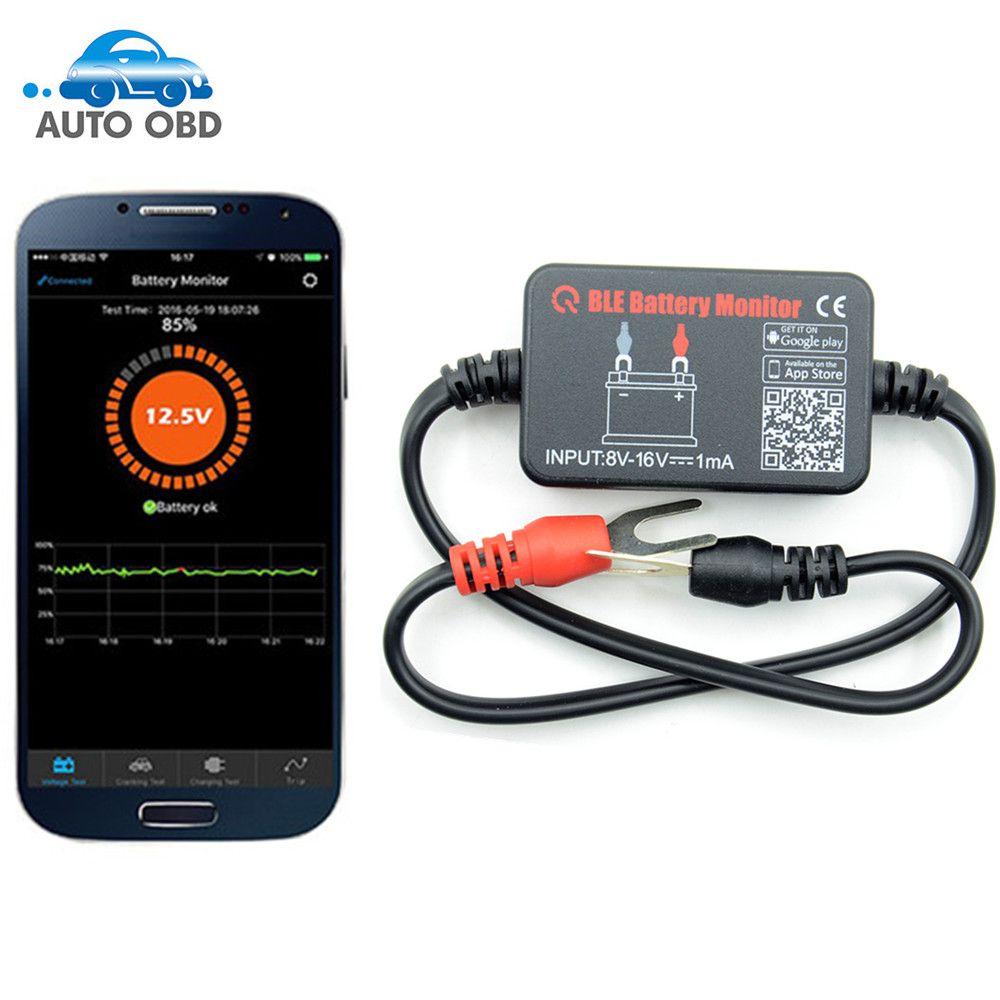 Bluetooth 12v Battery Tester Bm2 Battery Monitor Car Battery