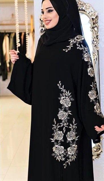 Pin By Kulsoom Firdous Shamsi On Abaya Design Abaya Designs Latest Abayas Fashion Black Abaya Designs