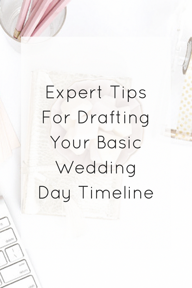 Expert Tips for Drafting Your Basic Wedding Day Timeline #