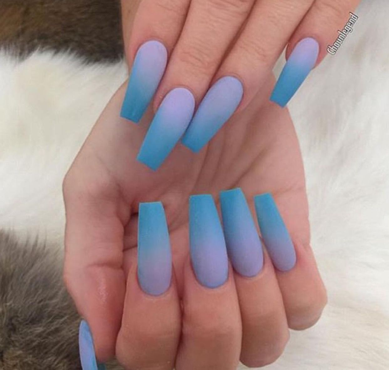 Hair Nails And Style Faded Nails Acrylic Nails Coffin Ombre Powder Nails