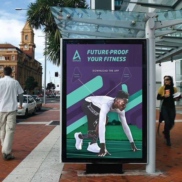 Antara poster mock up initial idea New app coming soon