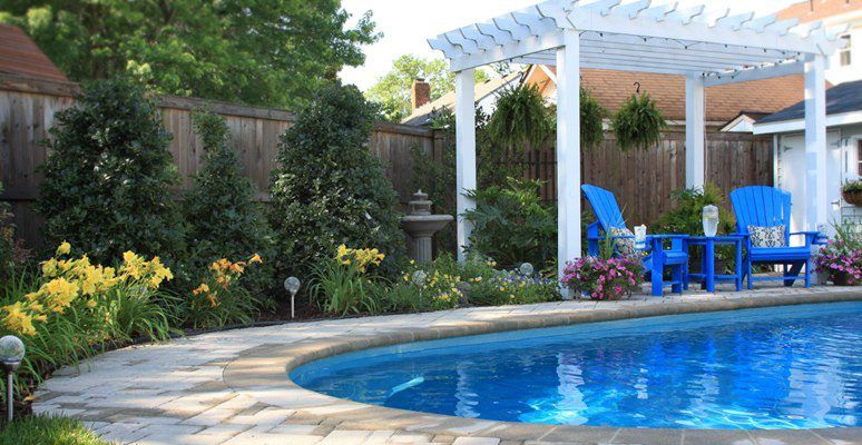 Poolside Landscaping By Mcdonald Garden Center Virginia Beach