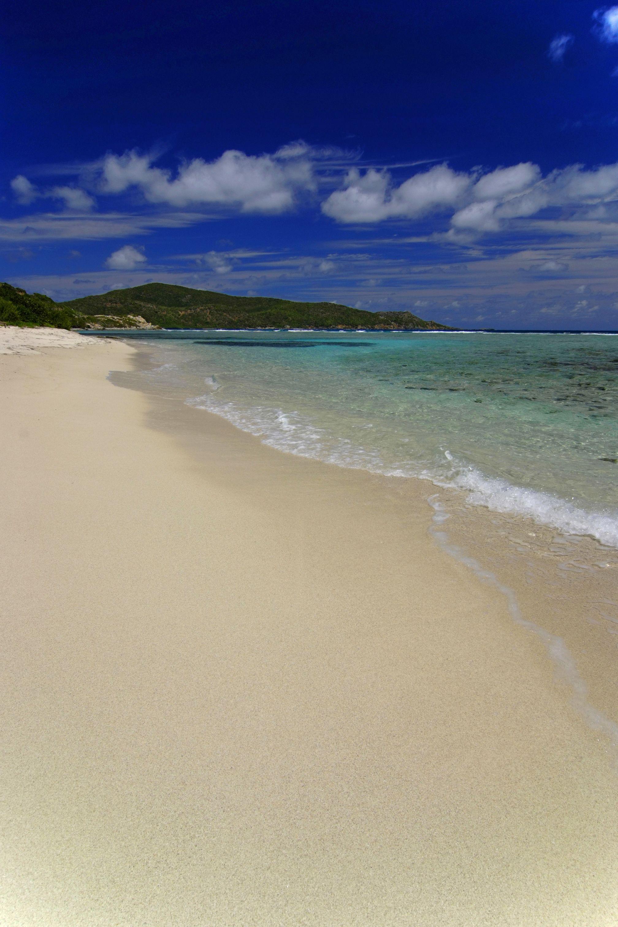 Enjoy the beach on Scrub Island, British Virgin Islands