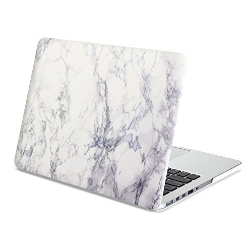Amazon Com Macbook Pro 13 Retina Case Gmyle Rubber Coated For Macbook Pro 13 Inch With Retina Display White Marble Macbook Macbook Pro Cover Macbook Covers