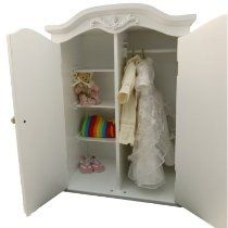 What Little Girl Wouldnu0027t Want This Victorian Baby Doll Wardrobe Armoire?