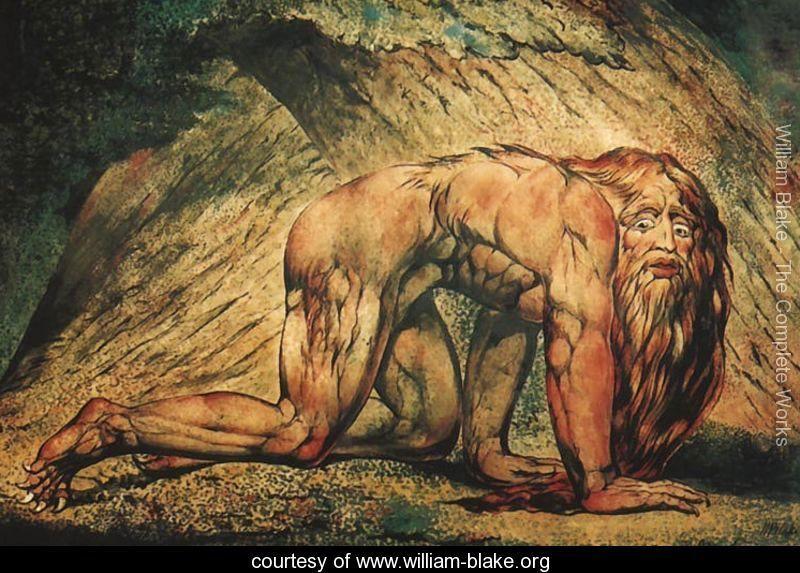 Nebuchadnezzar, William Blake   William blake paintings, William ...