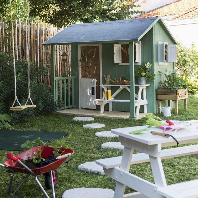 Cabane Bois Castorama Attirant Maisonnette Bois Blooma Wakame Maisonnette En Bois Cabane Jardin Cabane Exterieur Enfant