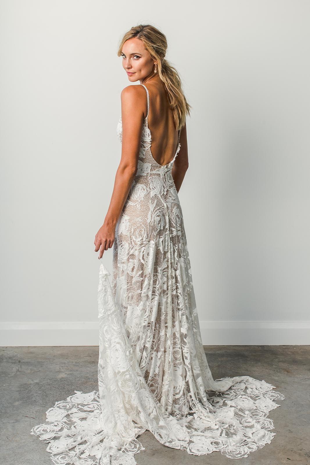 Rosa grace loves lace wedding dresses pinterest backless
