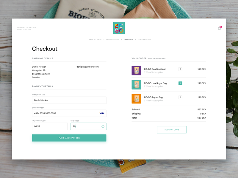 Checkout Form Form Design Ecommerce Design Web Design Inspiration