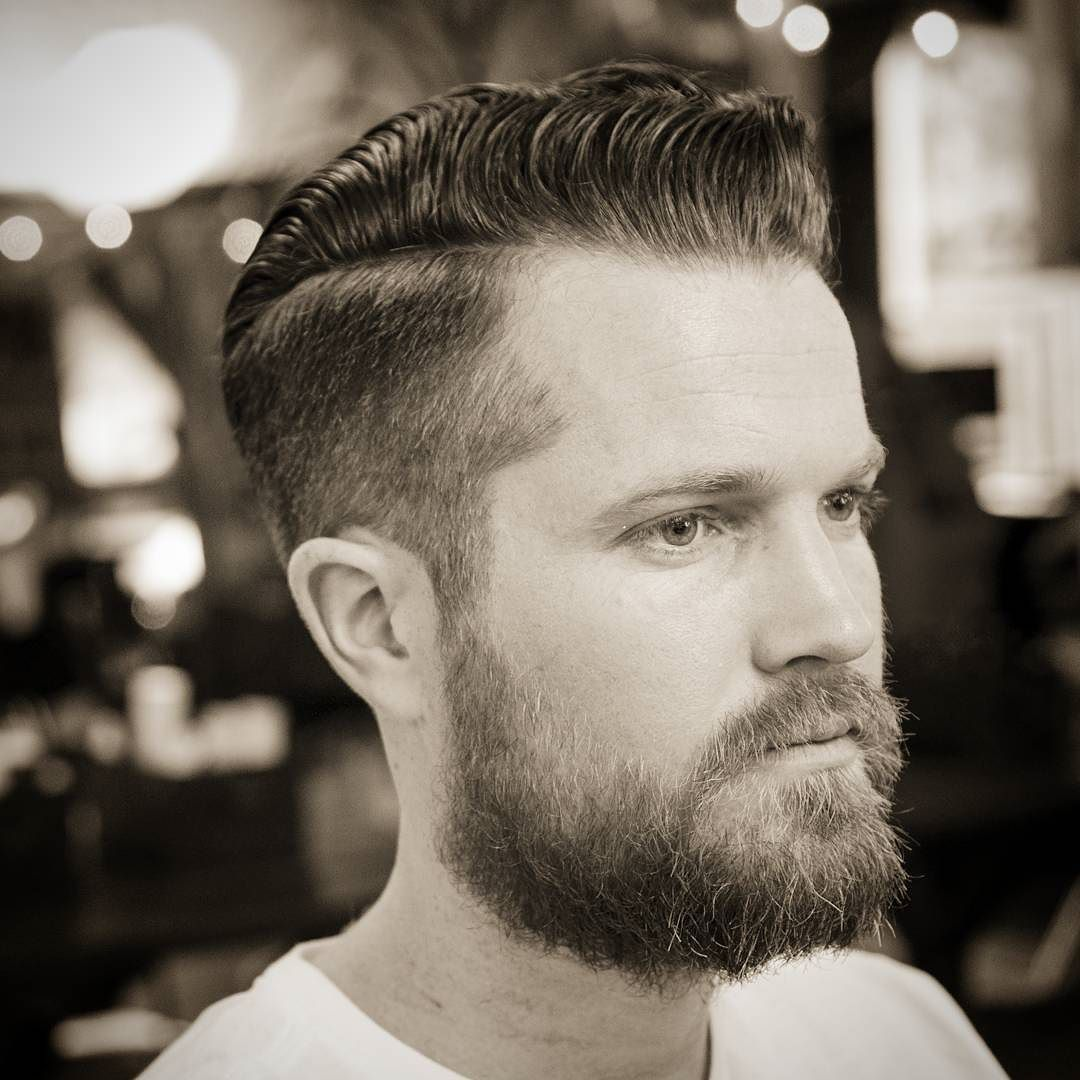 Mens haircuts with beards haircut by michaelmartinthebarber iftwejima menshair