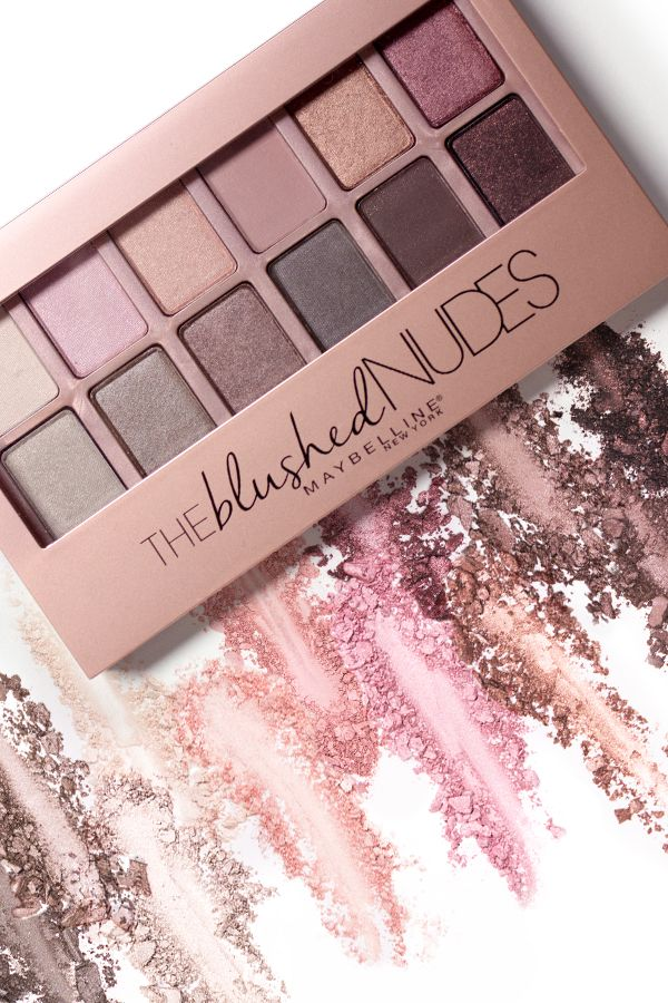 Maybelline The Blushed Nudes Eyeshadow Palette, 0.34 oz