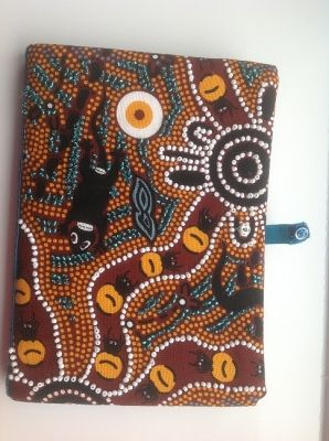 Aboriginal design notebook