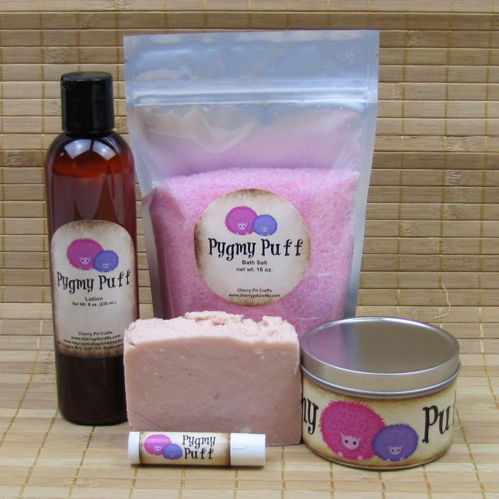 Harry Potter Pygmy Puff Gift Set All Natural Lip Balm Shea
