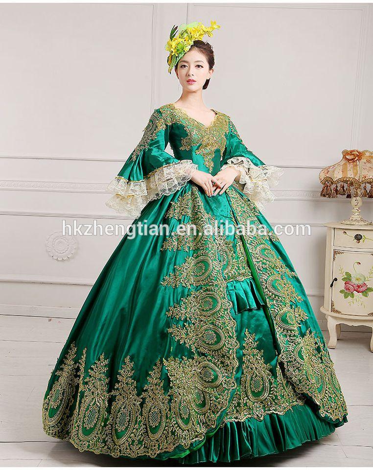 2017 Quanzhou Walson Medieval Renaissance Ball Gown Wedding Dress ...