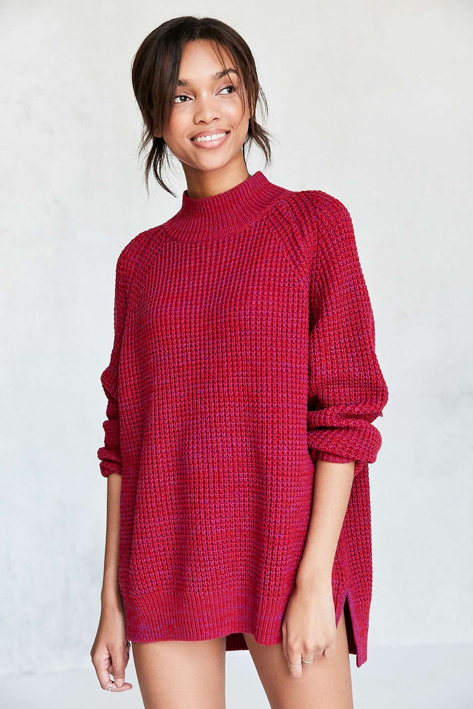 BDG Waffle-Knit Turtleneck Sweater | Waffle knit, Urban outfitters ...