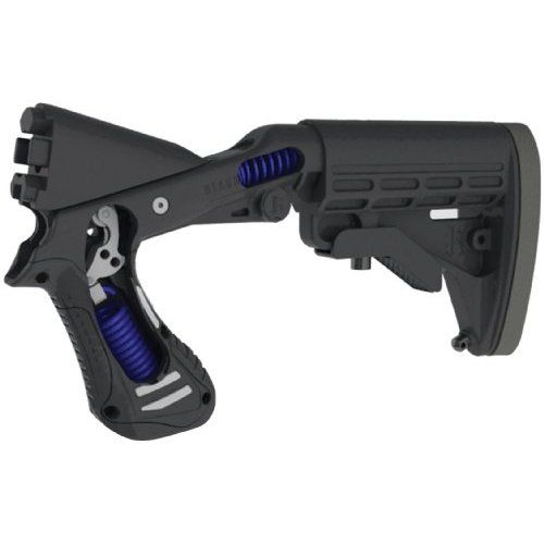 BLACKHAWK! SpecOps Stock Gen II Adjustable Shotgun Stock & Forend - Black - Mossberg 12 Gauge