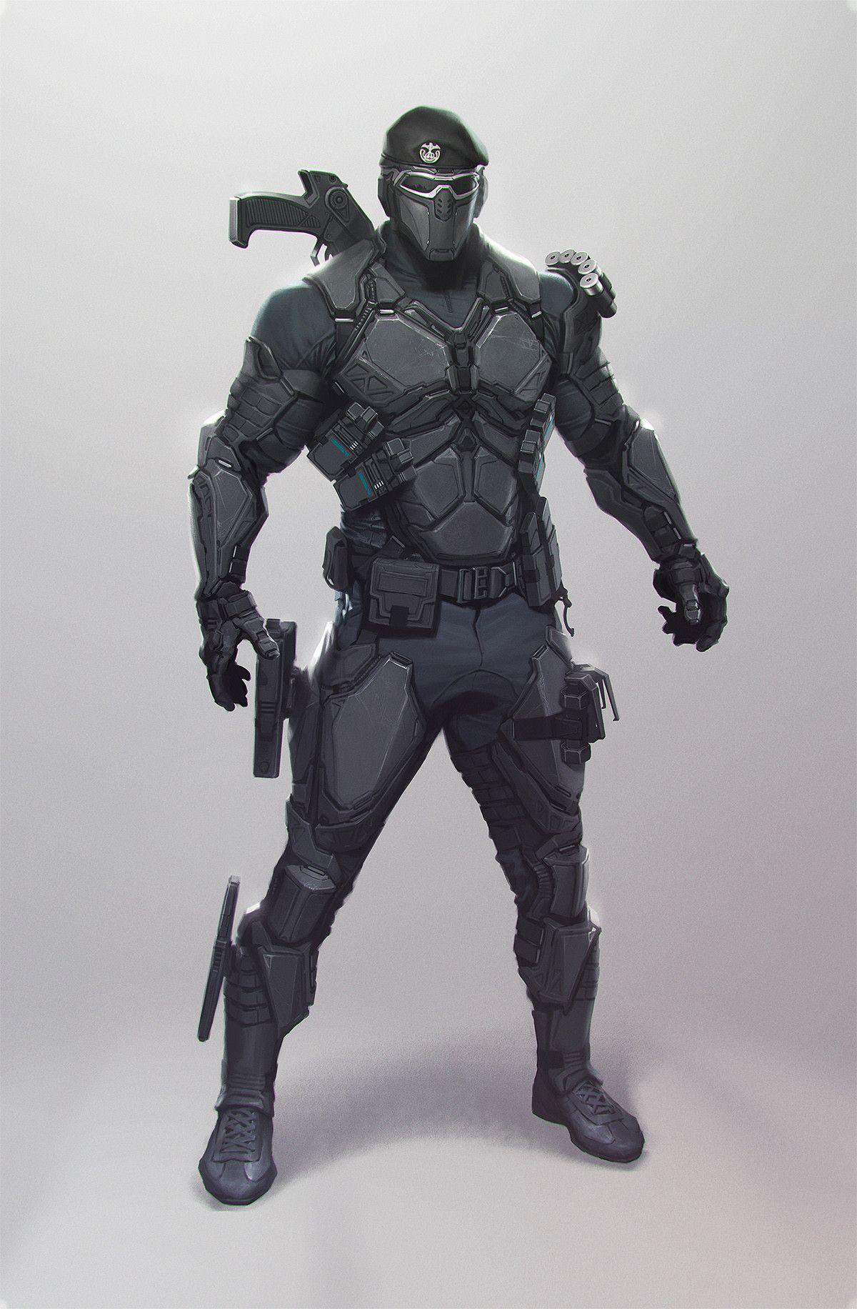 Artstation Panda Jianli Wu Sci Fi Concept Art Armor Concept Concept Art Characters