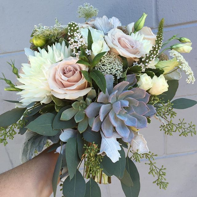 awesome vancouver florist Bridal bouquet for a sunny Friday #wedding  #vancouverflorist #vancouverwedding #vancouverflorist #vancouverwedding #vancouverweddingdosanddonts