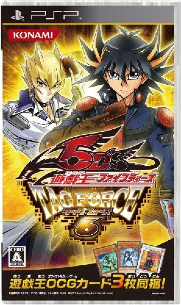 USED Sony PSP YuGiOh! 5D's Tag Force 6 JAPAN import