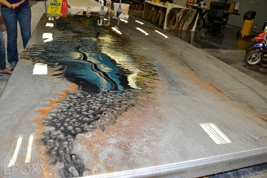 Pin on DIY Epoxy Kitchens, Countertops, Floors and Table ...