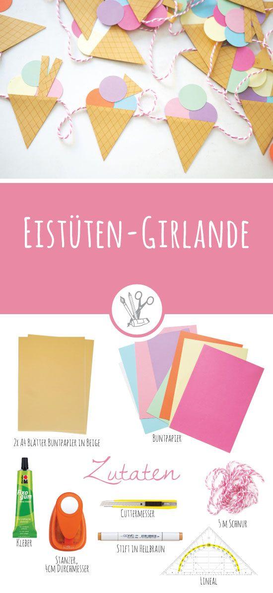 Neue Anleitung Papierballchen Girlande Basteln 8