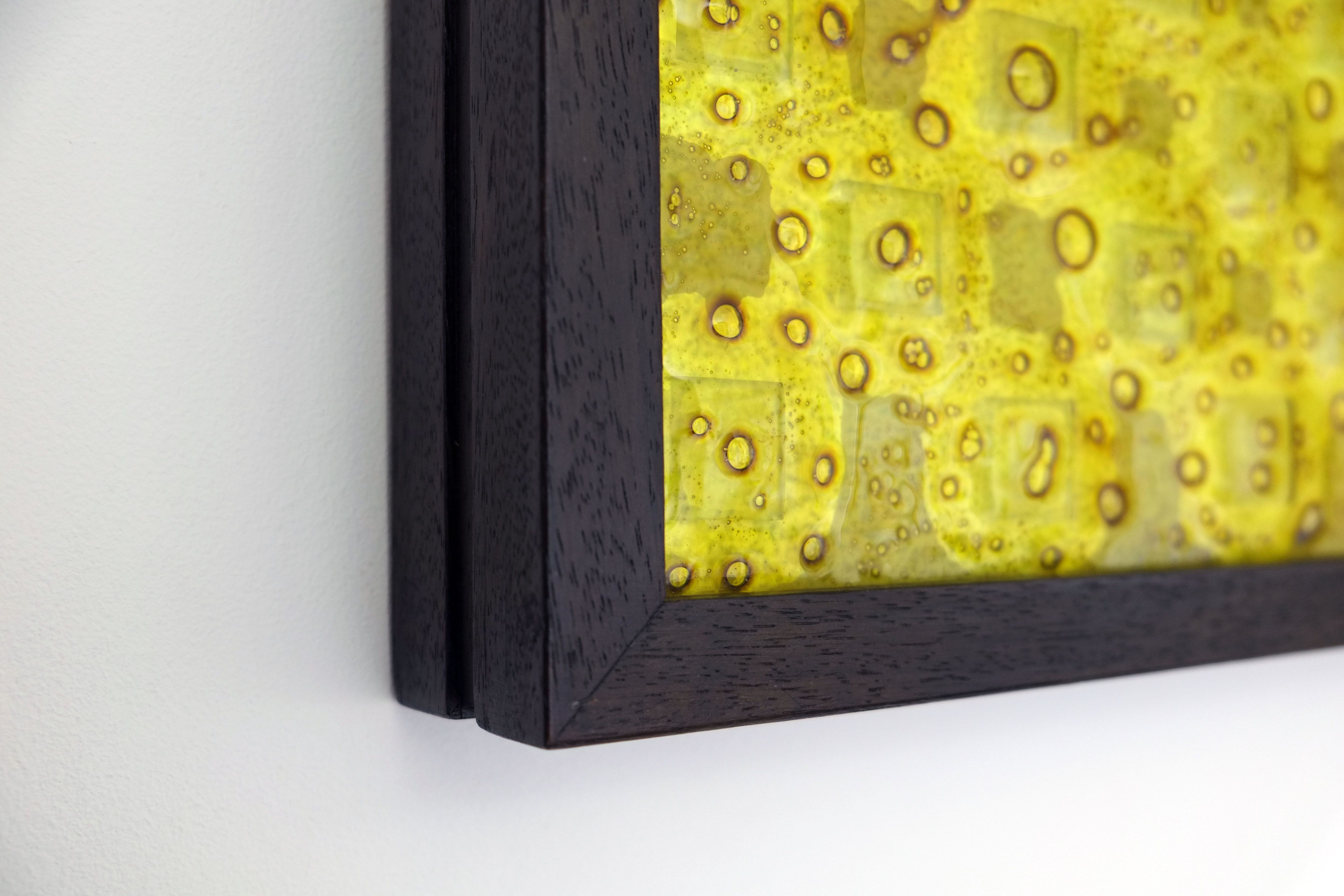 Oronsay Fused Glass Wall Art Light Box. The Fused Glass Panels that ...