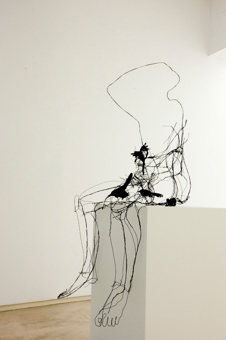 David Oliveira | line in wire form | between 2D and 3D | Pinterest ...