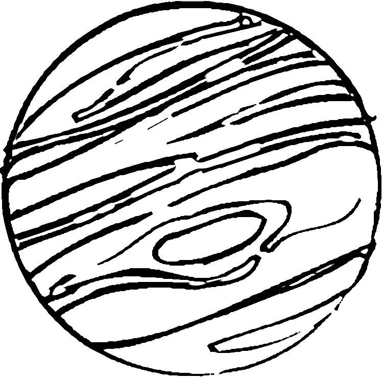 Jupiter Coloring Page Coloring Pages Space Coloring Pages Color