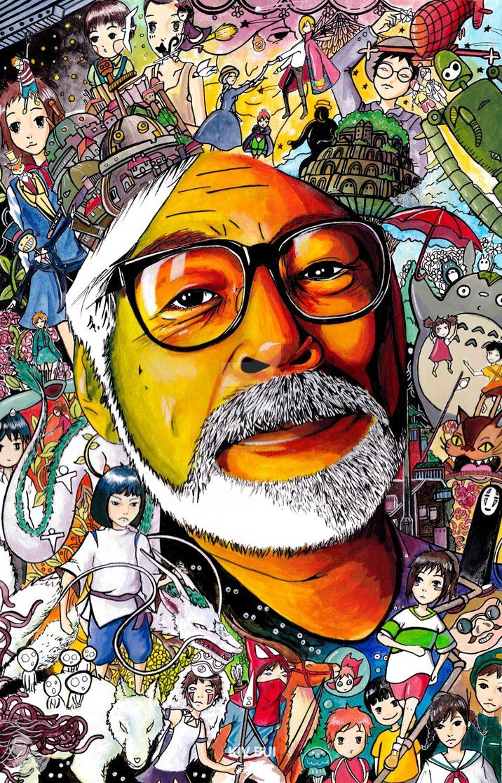 Dear Miyazaki san by childheroes.deviantart.com on @DeviantArt