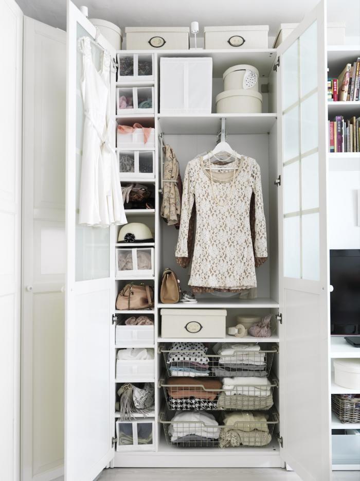 5 favorites closet storage systems pax wardrobe and for Storage wardrobe ikea