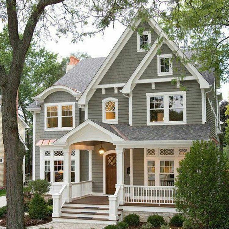 Estilo americano. Linda. Nos remete aos sonhos da casa perfeita.