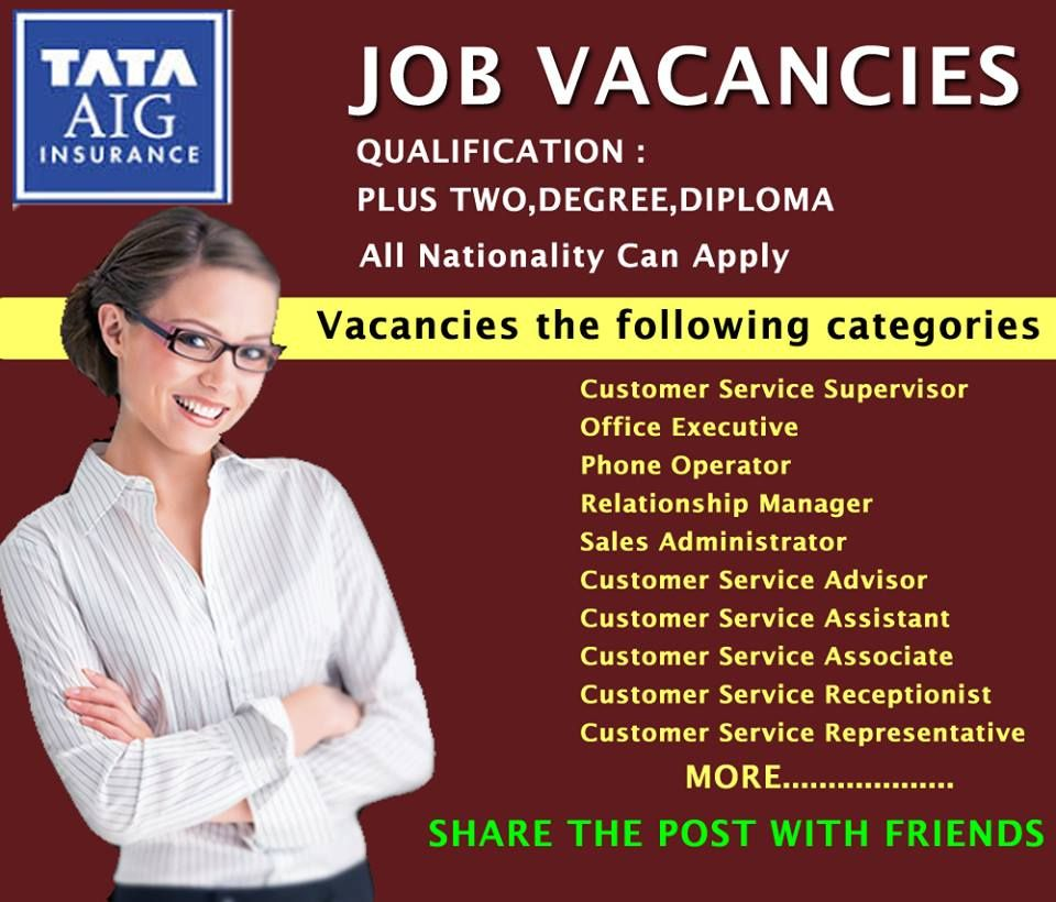 TATA CAREERS Relationship management, Job, Service advisor
