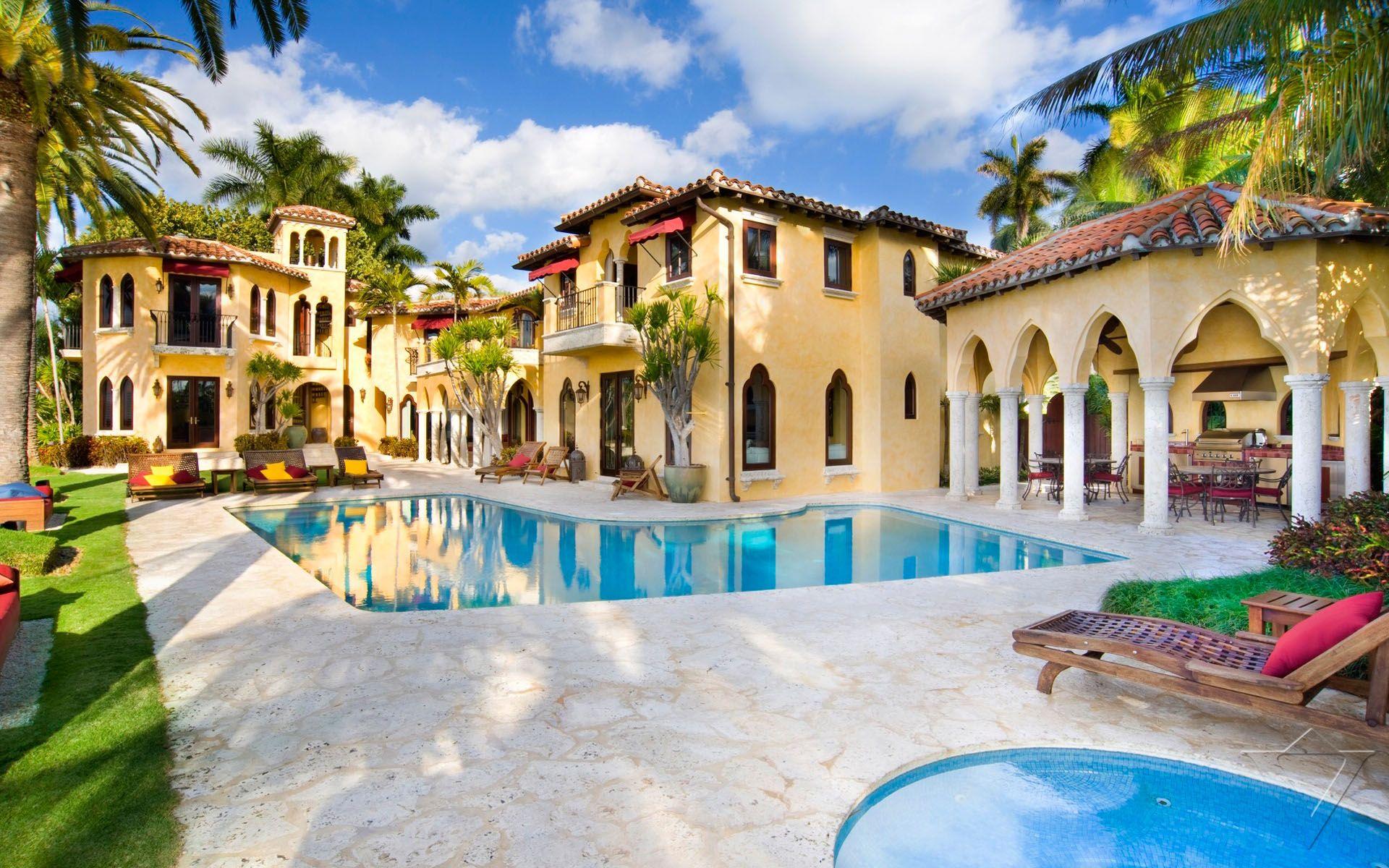 luxury villa, villa jasmine, miami, usa, north america (photo#770