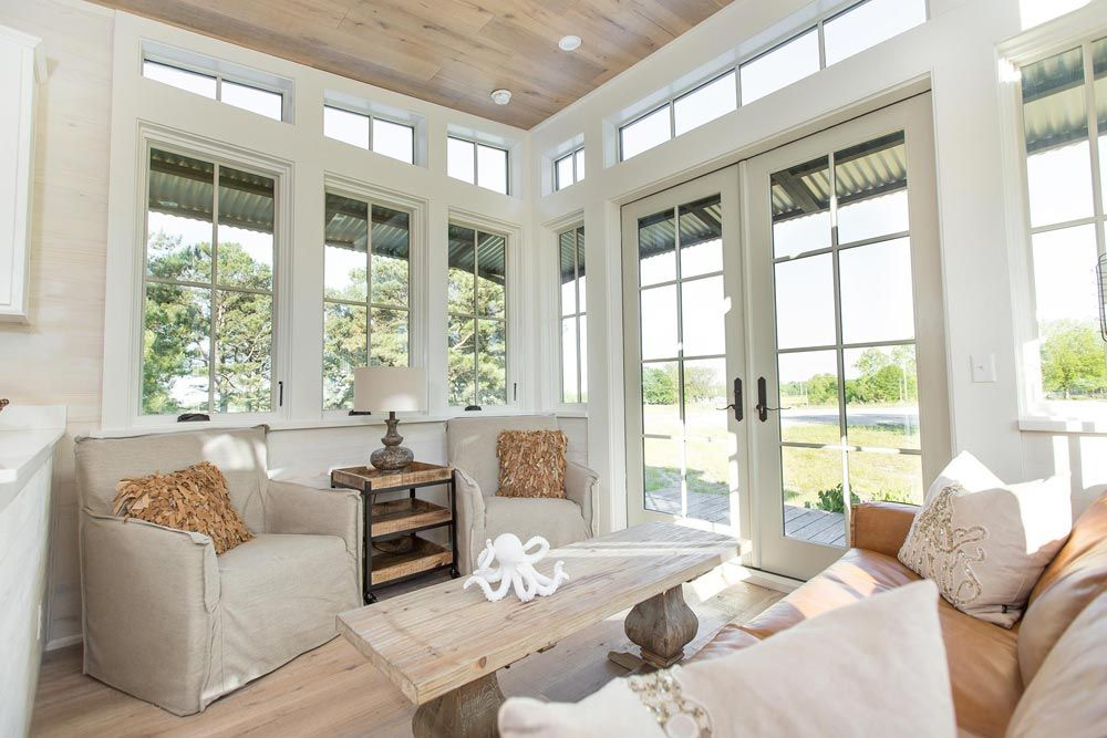 Lots Of Natural Light Saltbox By Clayton Tiny Homes