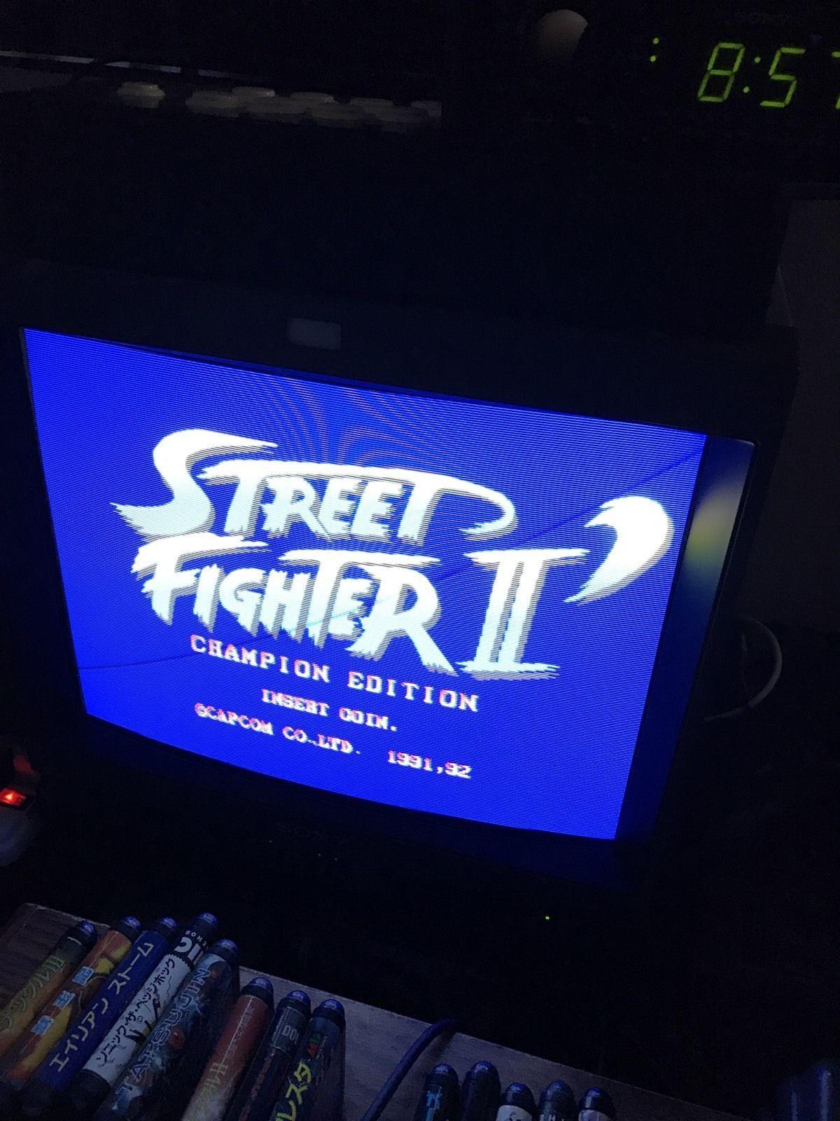 Street Fighter 2 Champion Edition Jamma Pcb Tested Street Fighter 2 Street Fighter Fighter