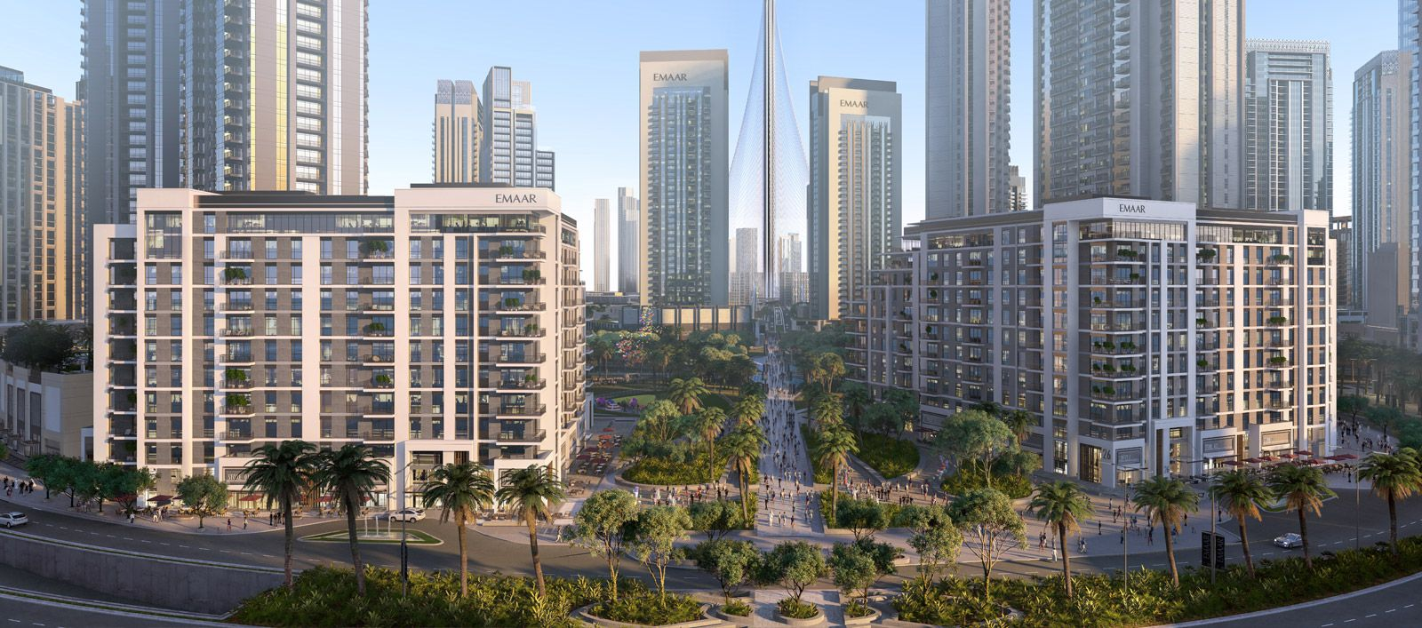 Island Park 1, Dubai Off Plan 1,2,3 Bedroom Apartment