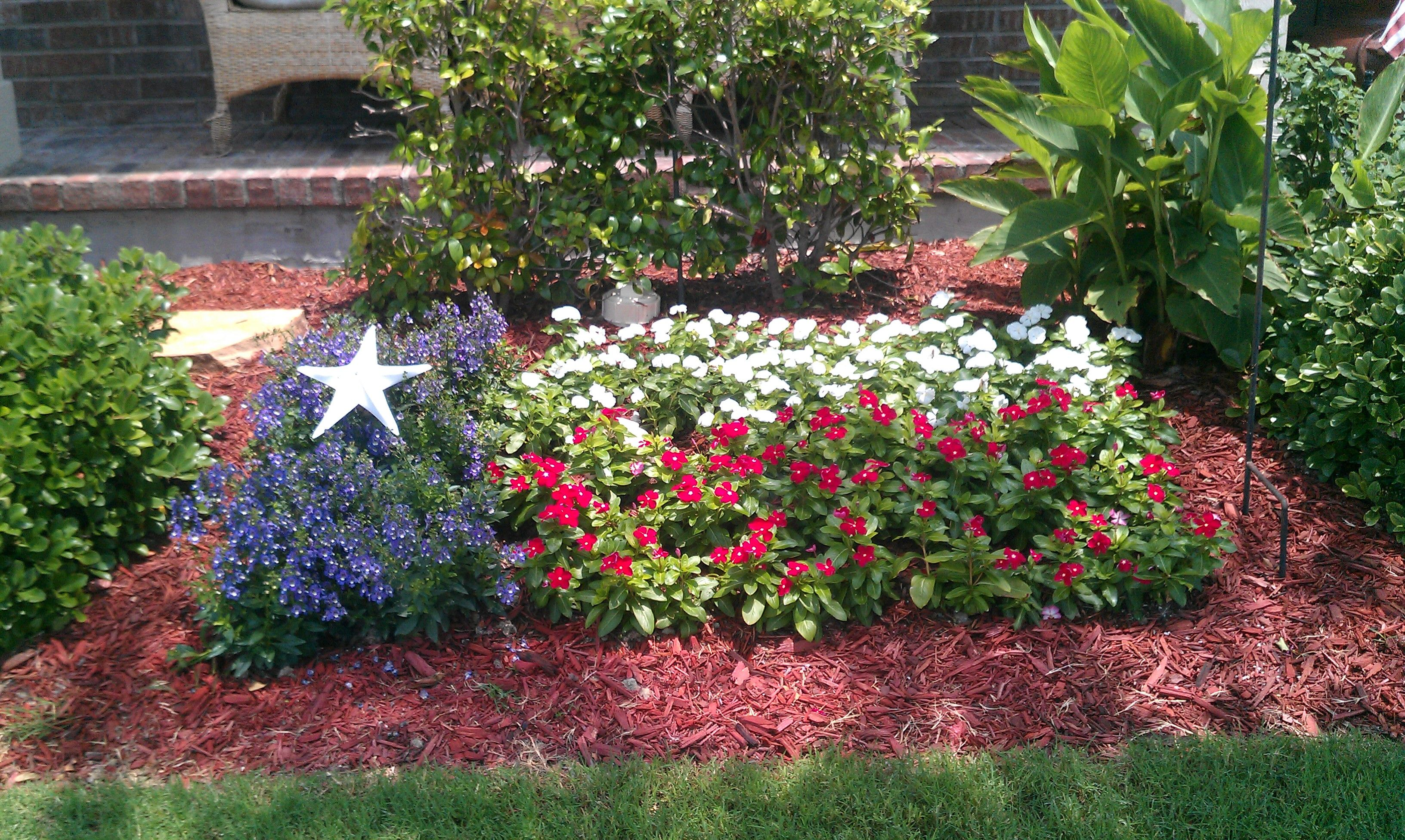 Awesome Texas Flag Garden :) Would Love To Do This