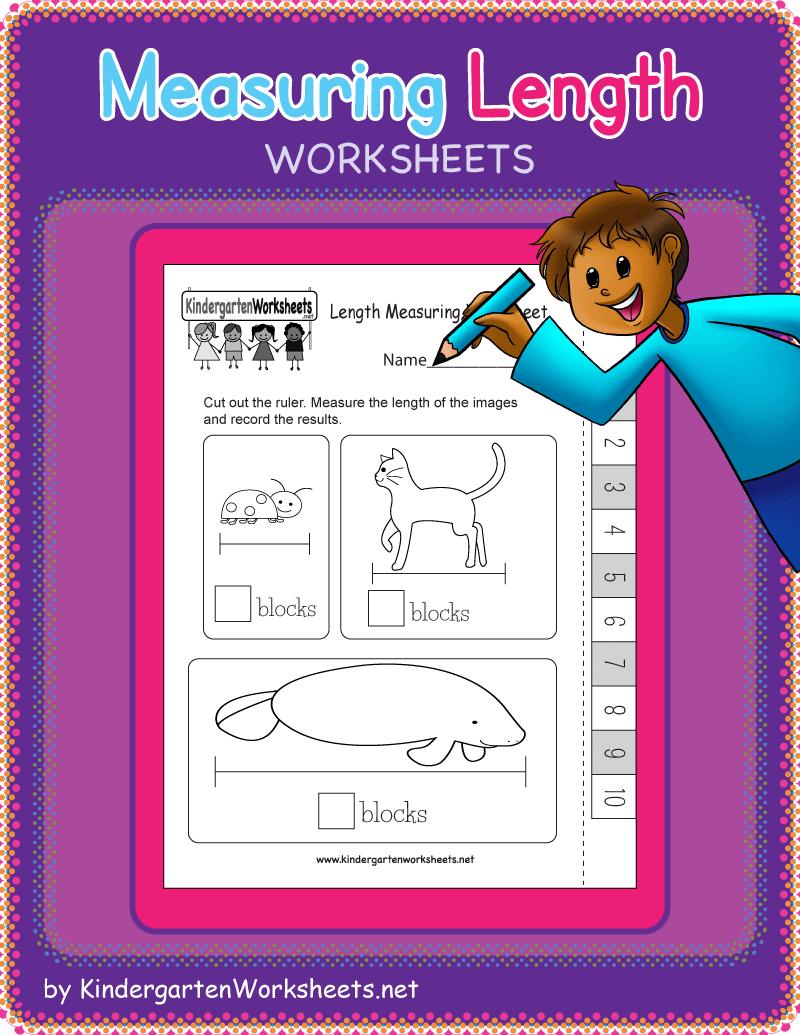 Kindergarten Measuring Length Worksheets Measurement Kindergarten Kindergarten Math Free Measurement Worksheets [ 1035 x 800 Pixel ]