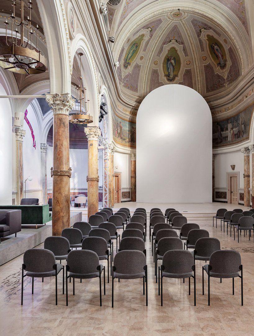 Balbek Bureau Transforms Old Church In San Francisco Into 906 World Cultural Center Cultural Center Architecture Architectural Elements